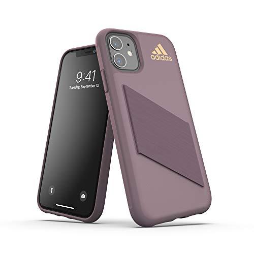 Adidas SP Protective Pocket - Carcasa para iPhone 11, Color Morado y Rosa