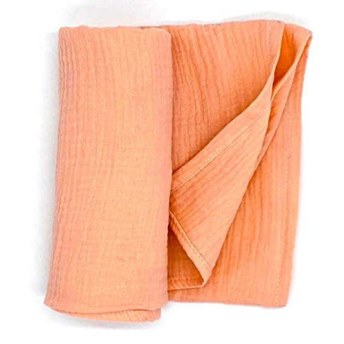HOMYBABY Muselina bebe 120x120 [1pc] | Muselinas bebe algodon organico y bambu | Arrullo para bebes | Manta bebe recien nacido | Idea regalo bebe: toalla, gasas o paños para carro, cuna y cambiador