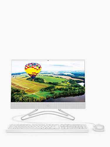 HP 22-C0053NA 21,5'FHD PC All-in-One Intel Celeron J4005 Fino a 2,7 GHz Processor, 8 GB DDR4, unità a stato Solido da 512 GB, Wireless 11ac e Bluetooth 4.2. Windows 10 S