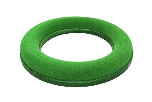 Steckmasse-Ring, Aquadur, 30 cm, Steckschaum, Steckmoos-Kranz, frische Blumen-Deko, nass, Blumen-Gestecke, Tisch-Dekoration
