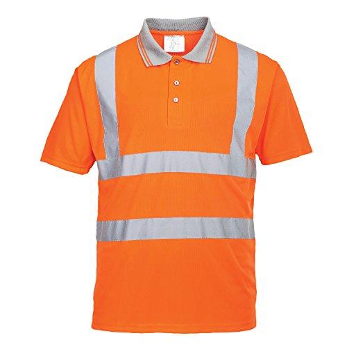 Portwest Rt22 – Hi-Vis s/s polo, Small, orange