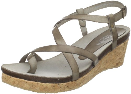 Cordani Women's Shaw-3C Wedge Sandal,Cement,41 EU/10.5 M US