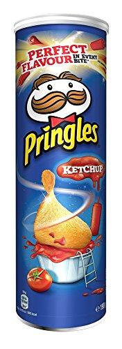 Pringles Ketchup, 4er Pack (4 x 190 g)
