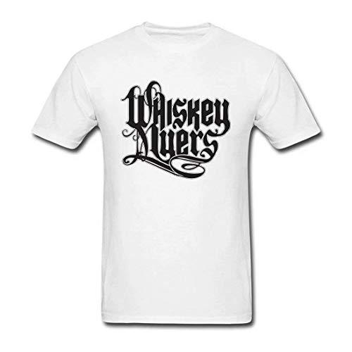 Whiskey Myers Raar Ademend Design Tee, Mode Heren Cool Crew Neck T-Shirt