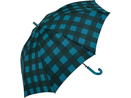 Clima Paraguas Bisetti Adulto Automático a Cuadros 68 cm. 8 Varillas