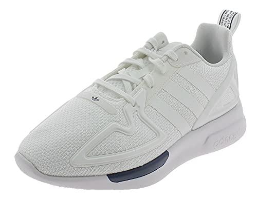 adidas ZX 2k Flux J, Sneaker, Grigio Nero Bianco, 36 2/3 EU