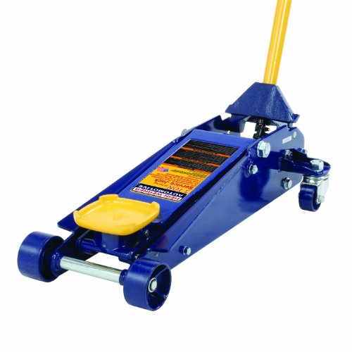 Save %6 Now! Hein-Werner HW93652 Blue Heavy Duty Service Jack - 3 Ton Capacity