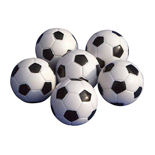 TOYMYTOY 6PCS 32mm Fútbol de Mesa plástico futbolín