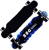 """Defeilaisport Skateboard 7 Layers Decks 31""""x8"""" Pro Complete Skate Board Maple Wood Longboards"""