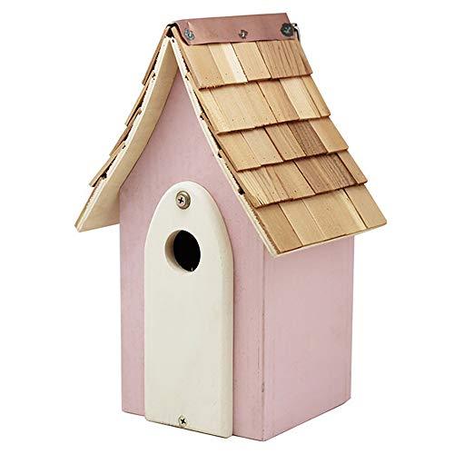 Sungmor Geschenken & Decor Natuurlijke Nest Houten Muur Hangende Vogelhuis | Stijlvolle Vogelhuisje | Tuin Decoratie Vogelhuisje GB1002