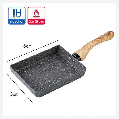 TGBN 1 pc Poêle à Frire Antiadhésive Tamagoyaki Omelette Poêle Noire Fry Oeufs Pan Pancake Cuisine Pot Accessoires Outil, H1318 H1318