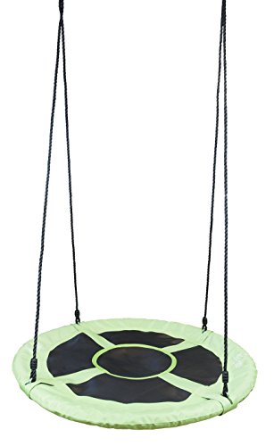 Flying Squirrel 40' Saucer Tree Swing - Green