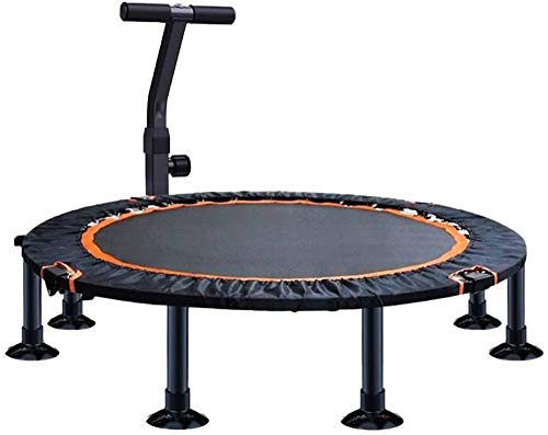 Trampette für Erwachsene Kinder Kinder Round Fitness Trampolin 48 Zoll Faltbarer...