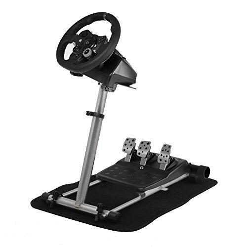 BuoQua 360 Gradi Regolabile Steering Wheel Stand Per Logitech G29 G920 Volante Con Supporto V2 Per Logitech Driving Force GT PRO EX FX Supporto Giochi Solo Supporto Ruota E Pedale Non Incluso