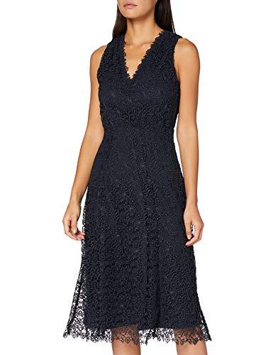 BOSS Demalda Vestido Informal, Azul Abierto (466), S para Mujer