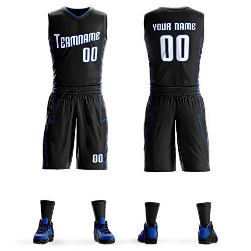 ZEH Camiseta de baloncesto para entrenamiento de equipo de baloncesto (color: F, talla: M) FACAI