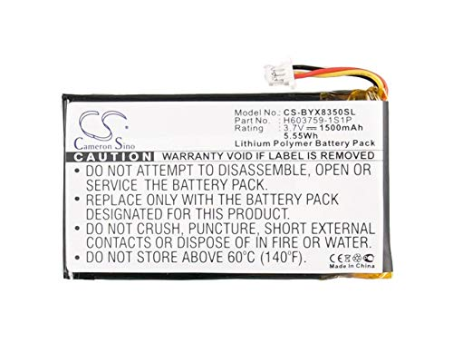 Bateria Para H603759-1S1P Yardage Pro XGC XGC Plus 368350 (1