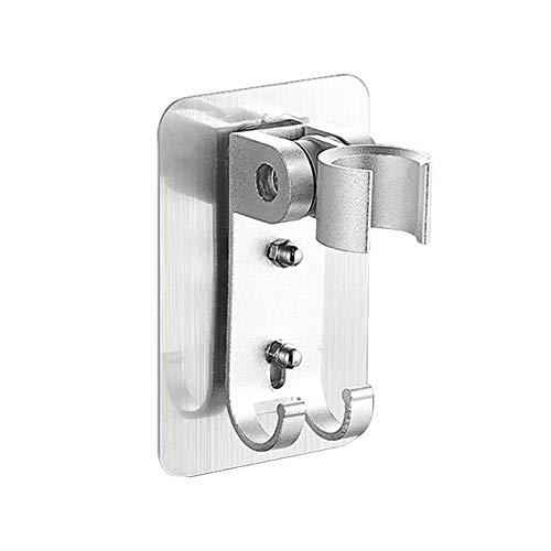 Lamcomt Cabezal de ducha de mano con arco iris, cabezal de ducha extraíble, para ahorrar agua, a prueba de golpes, boquilla de filtro de cocina (color : soporte de ducha)