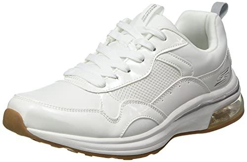 Skechers Damskie 117012-WHT_36,5 niskie tenisówki damskie, białe, 3,5 UK