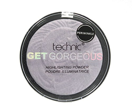 Technic Get Gorgeous Highlighting Pressed Powder Face Highlighter 12g-Periwinkle