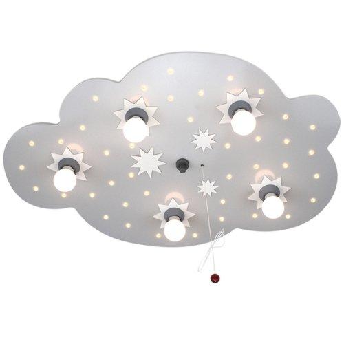 Elobraシーリングライト星雲、EEK A、シルバー124574