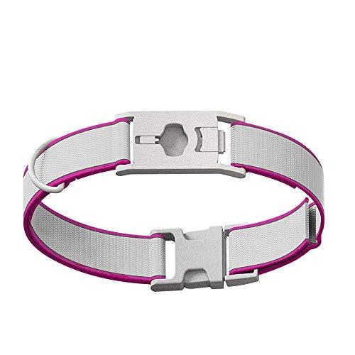 Whistle GO/GO Explore/Twist & Go Pet Collars/See Me Pink/Medium-Large