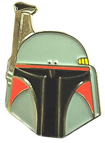 Pin de metal esmaltado, insignia broche de Star Wars, de cazador de recompensas Boba Fett