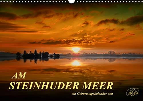 Am Steinhuder Meer/Geburtstagskalender (Wandkalender 2021 DIN A3 quer)