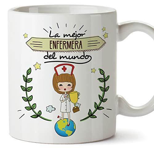 MUGFFINS Enfermera Tazas Originales de café y Desayuno para Regalar a Trabajadores...
