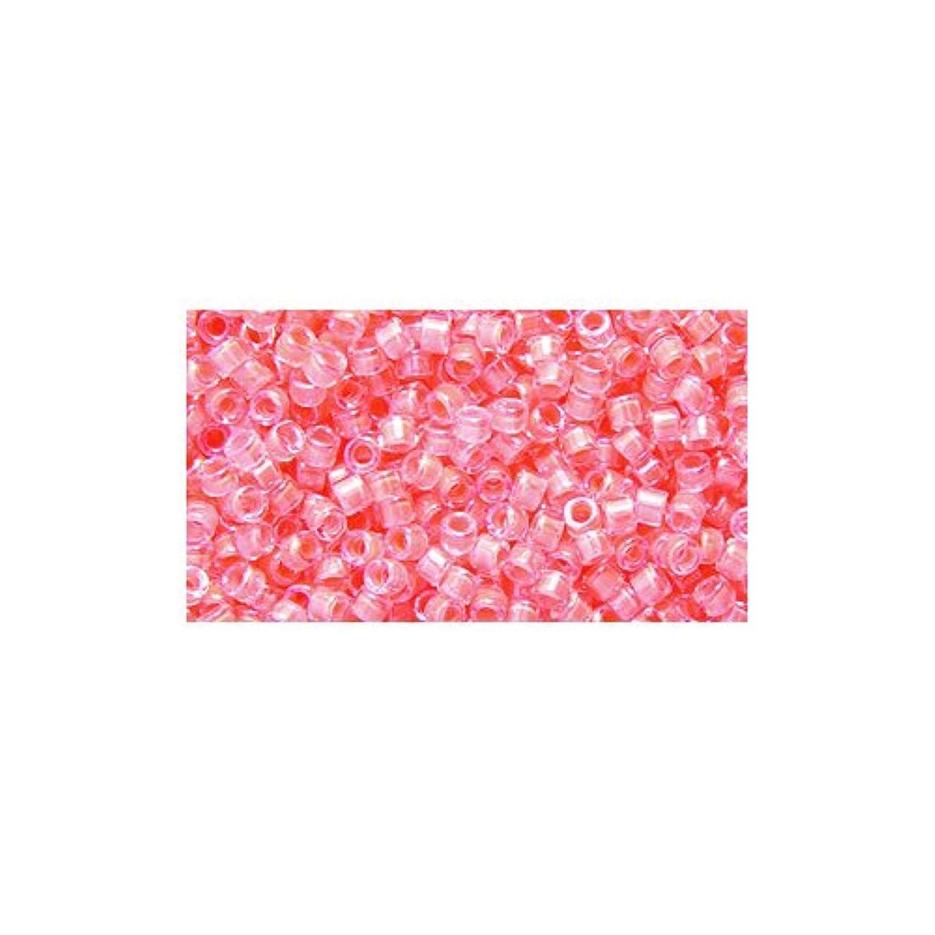 Miyuki Delica Seed Bead 11/0 DB2034, Luminous Flamingo, 9-Gram/Pack