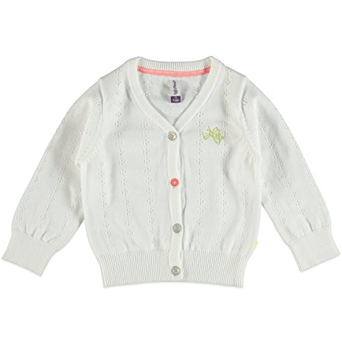 Babyface Bébé fille Cardigan à mailles fines, Blanc, taille 98