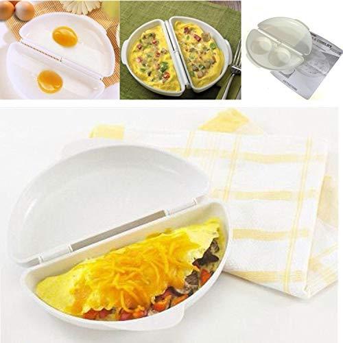 BSGP Omelette-Maker für Mikrowelle, Progressiv, mikrowellengeeignet, Omelett-Maker