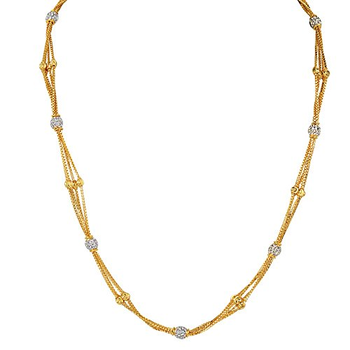 ORRA 22k (916) Yellow Gold Chain Necklace