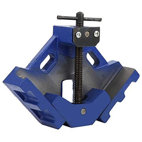Abrazadera de ángulo recto, abrazadera de ángulo de 90 °, accesorio de hardware Clip para carpintería, hierro fundido de alta resistencia de 4 pulgadas, utilizado principalmente en operaciones