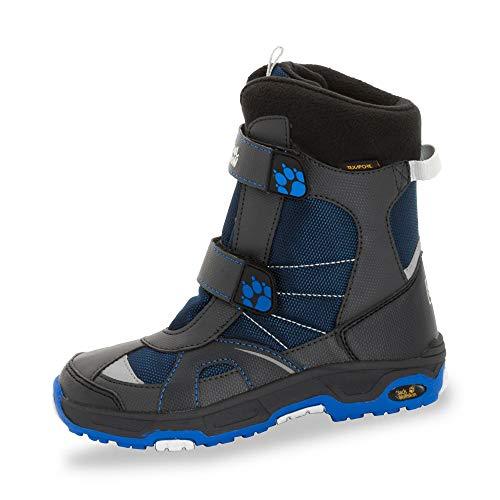 Jack Wolfskin Snow Leopard Texapore B Walking-Schuh, Anthrazit Blau, 36 EU