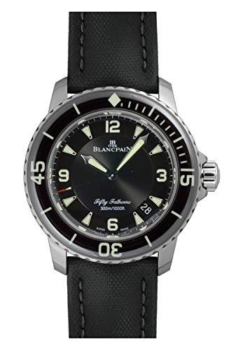 [ブランパン] BLANCPAIN 腕時計 5015-1130-52A フィフティ ファゾムス オートマティック 自動巻き 新品 [並...