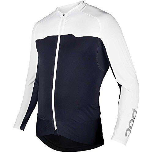 POC Sports pour Homme Adaptateur et connecteur LS Jersey Large Navy Black/Hydrogen White