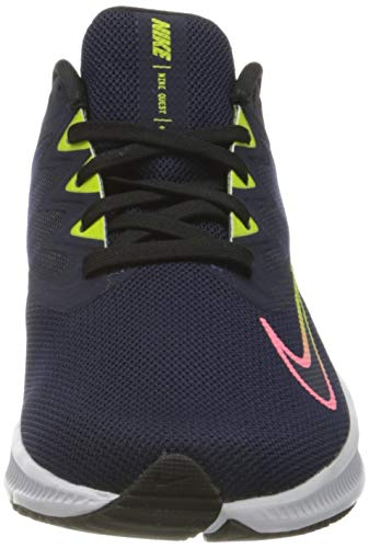 Nike Wmns Quest 3, Zapatillas para Correr Mujer, Blackened Blue Sunset Pulse Black Cyber, 39 EU