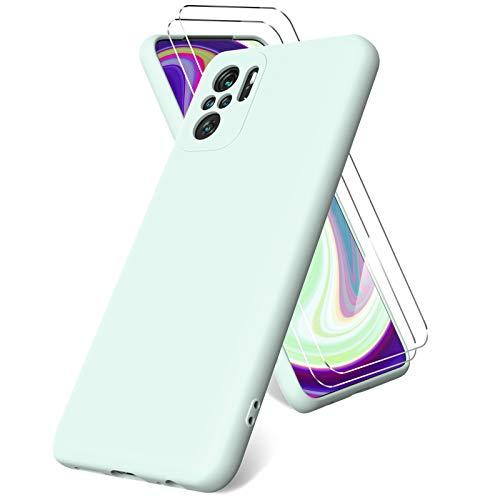 Vansdon Funda Compatible con Xiaomi Redmi Note 10 4G/ Note 10S, 2...