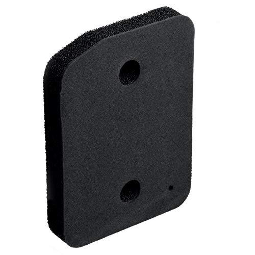 Filtro de espuma 207 x 155 mm como Miele 9164761 filtro de zócalo para intercambiadores de calor 1 unidad Negro