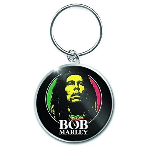 Bob Marley - Metall Schlüsselanhänger - Logo