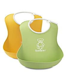2 Pack BABYBJORN Soft Bib