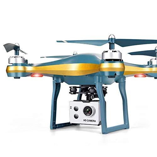 GZTYLQQ Drone per Adulti, con Fotocamera Anti-Vibrazione UHD WiFi 1080P, Mantenimento dell'altezza del Controllo vocale, seguimi e Funzione di Ritorno Automatico, Adatto per Principianti Oro 5G 1080
