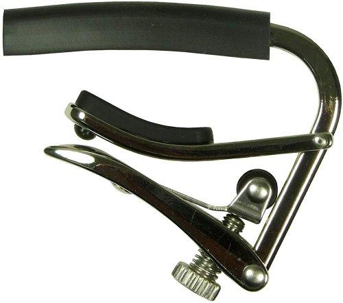 Shubb Kapodaster für E-Gitarren, Nickel [UK import]
