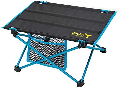 GUDESPORT 15.7 x11.8x7.9inch Campingtisch mobiler, Aluminium Tisch wasserfester Roll-Up Gartentisch