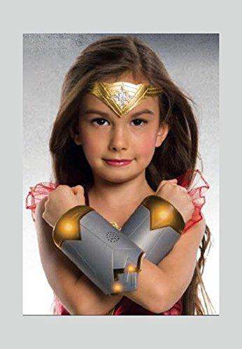 Brazaletes para niñas DC Comics con efecto de luz y sonido - Wonder Woman