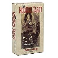 jokeWEN The Hoodoo Tarot 78枚のカードデッキフードゥータロットフルイングリッシュオラクルカードファミリーパーティーボードゲーム
