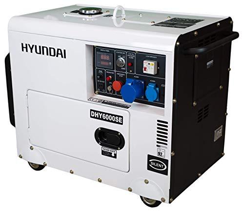 Hyundai DHY6000SE Générateur au diesel silencieux 5,2 kW