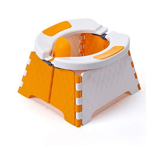 CHENJJ Sedile per vasino portatile, per bambini, da viaggio, per interni ed esterni