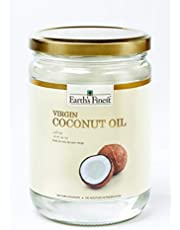 Earth's Finest Virgin Coconut Oil - 500ml | Cold-Pressed Coconut Oil for Cooking, Hair, Body & Massage | Pure & Unrefined Coconut Oil (Pack of 1)